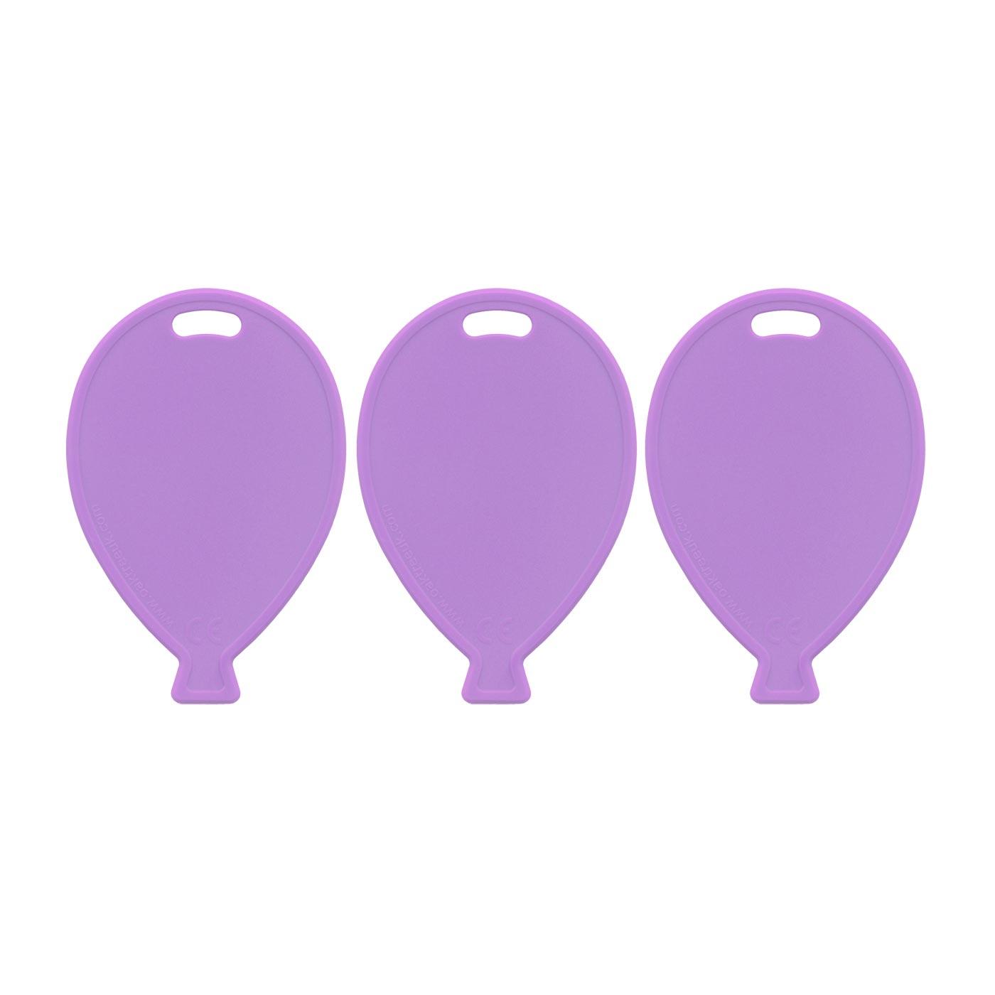 Lilac Balloon Weights