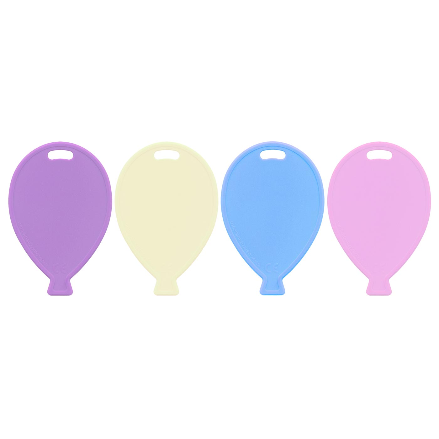 Pastel Assorted Balloon Weights