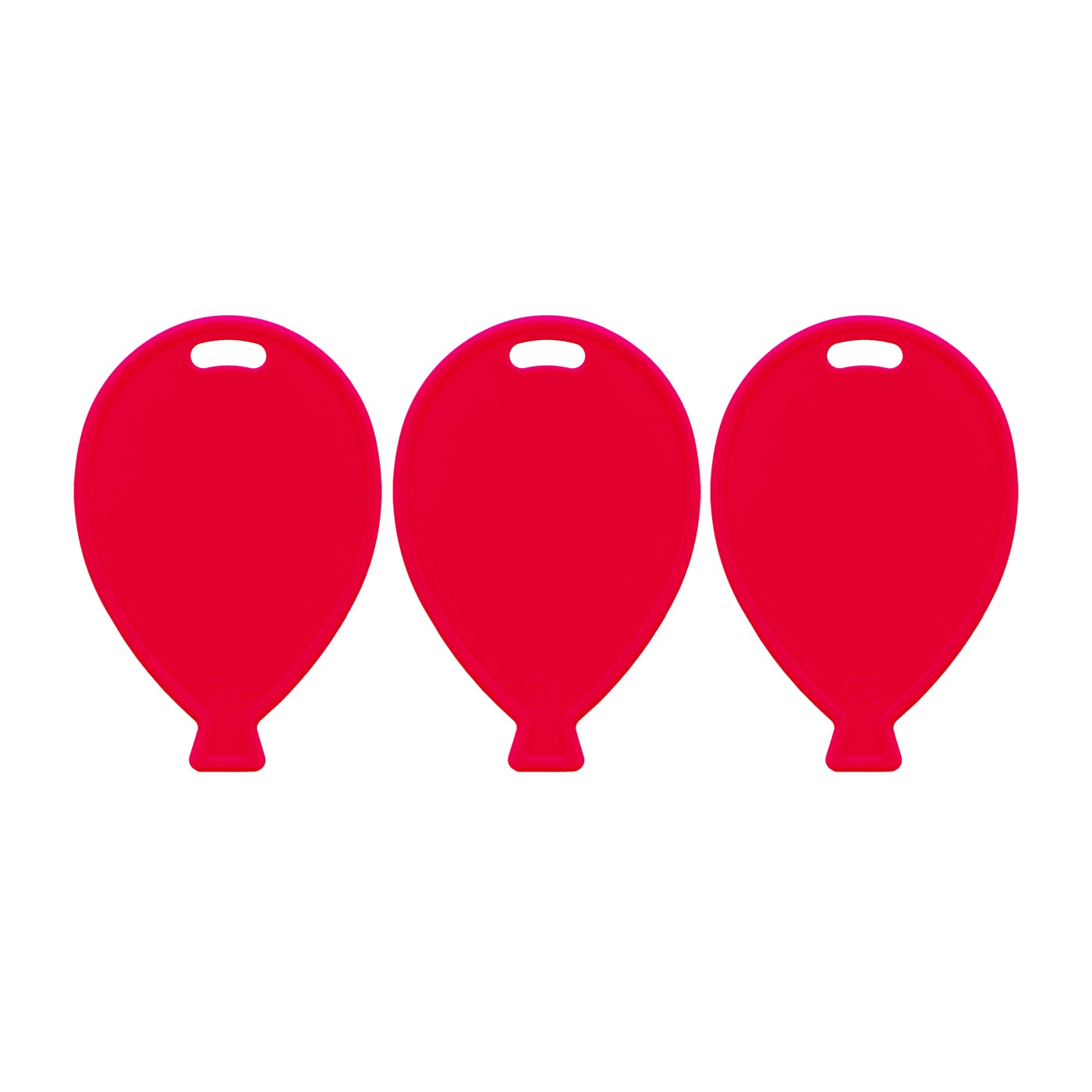 Red Balloon Weights