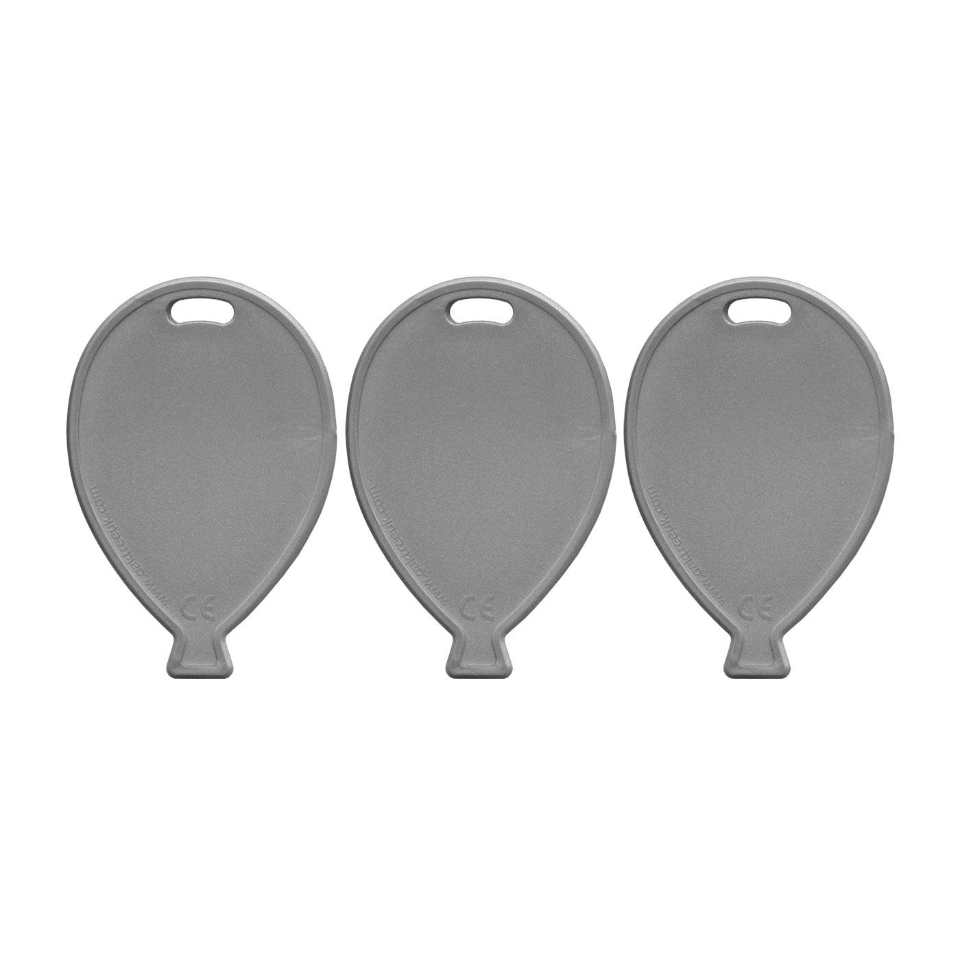 Silver Balloon Weights