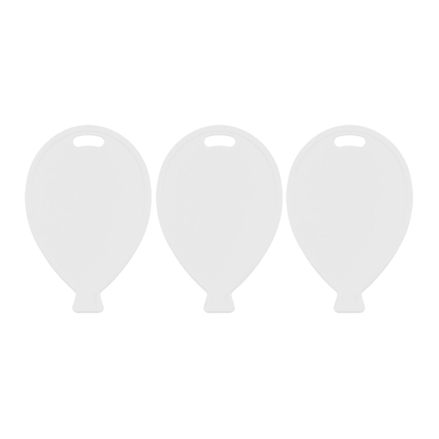 White Balloon Weights