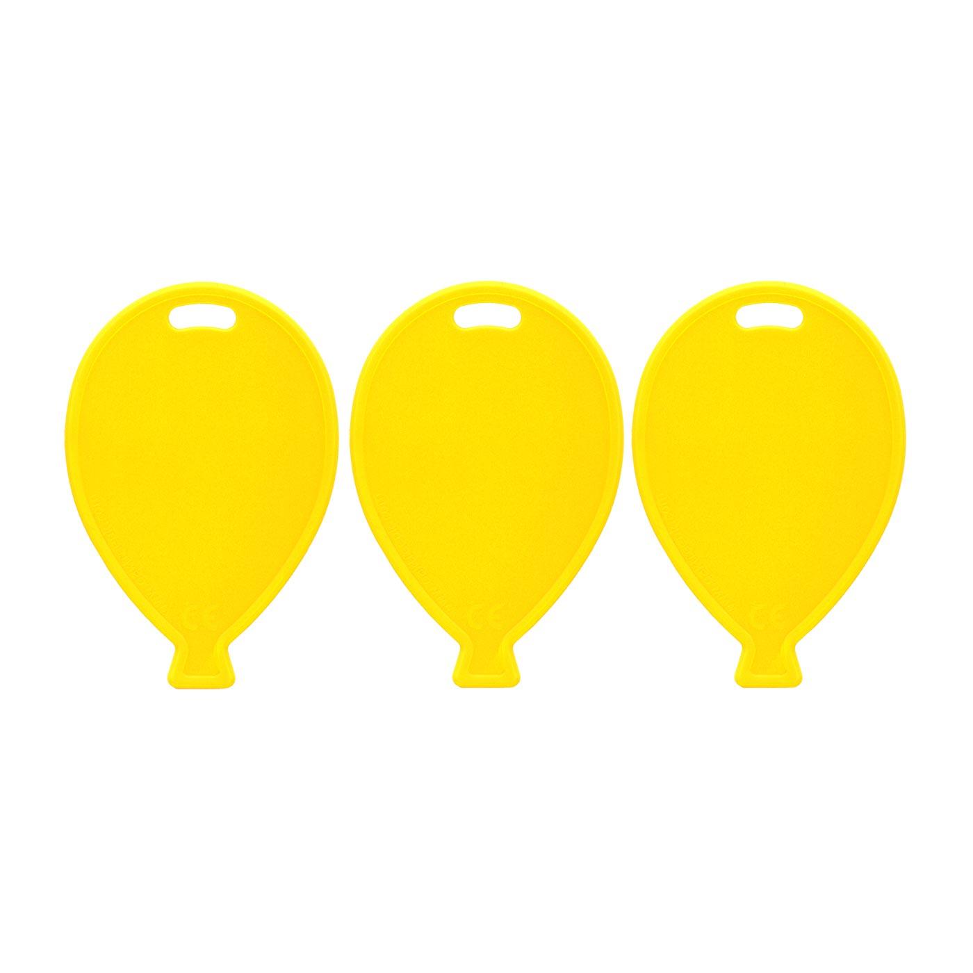 Yellow Balloon Weights