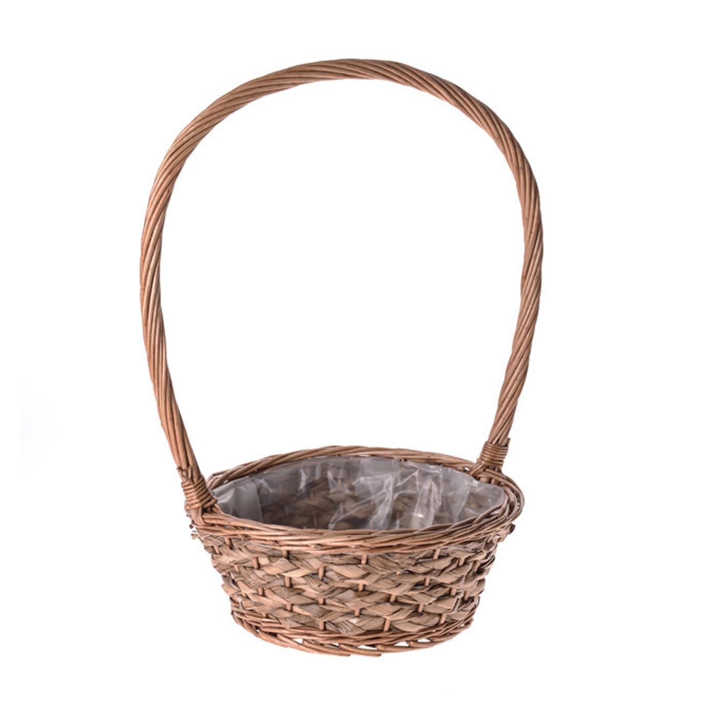 Plait Basket Round