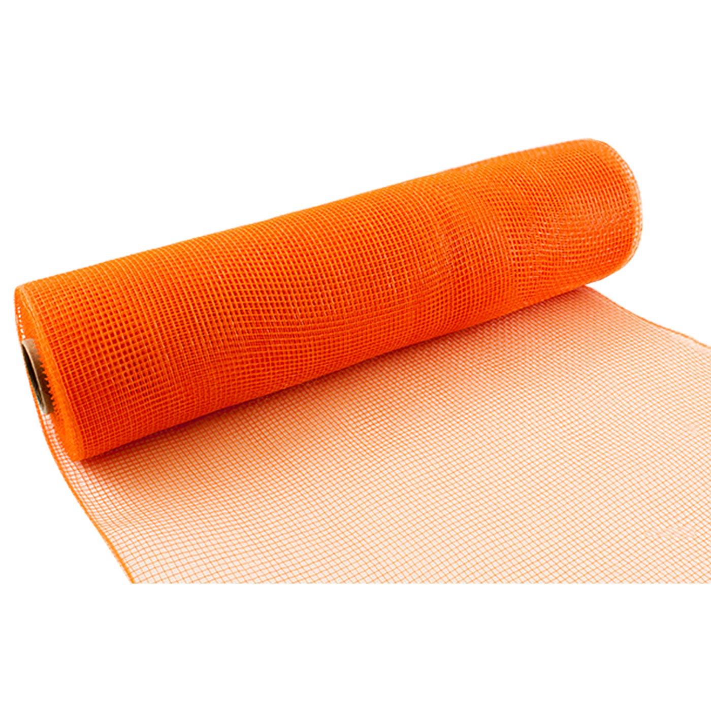 Deco Mesh 25cm Orange
