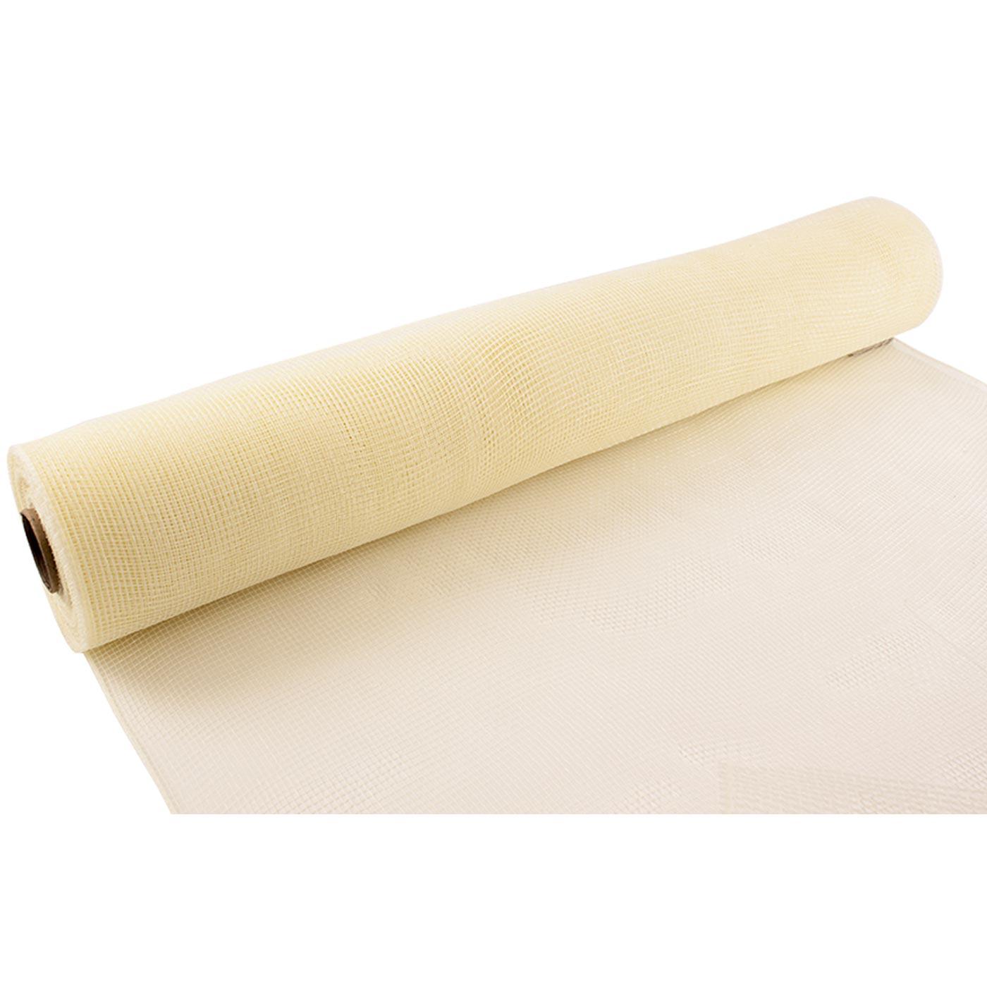 Deco Mesh 53cm Ivory