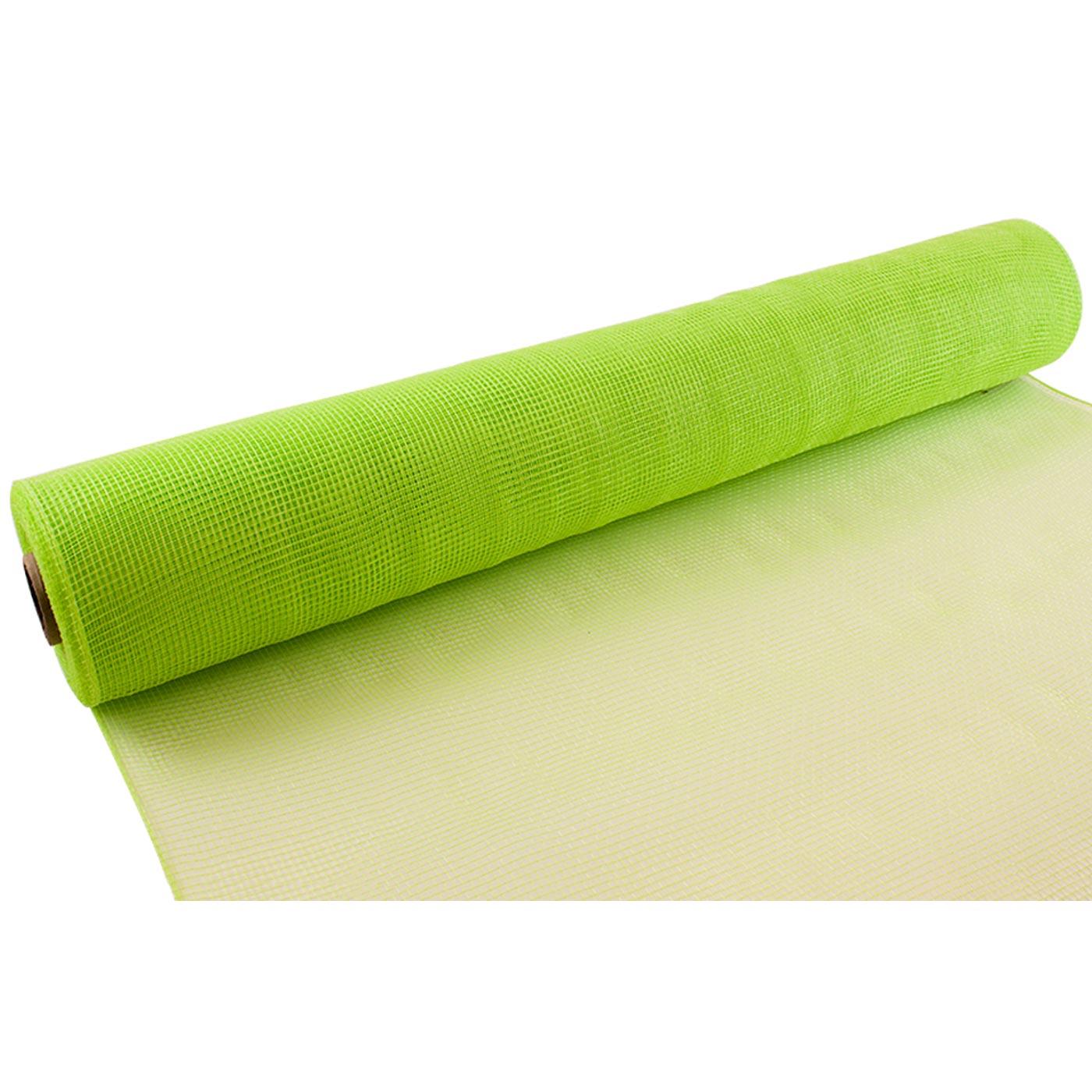 Deco Mesh 53cm Lime Green