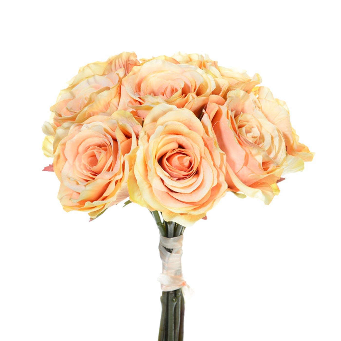 Rose Bunch Antique Peach