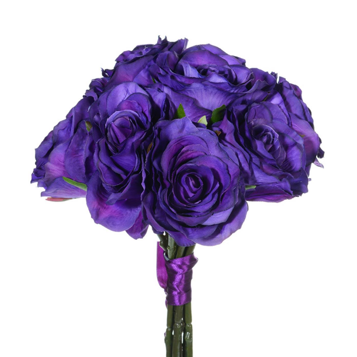 Rose Bunch Purple