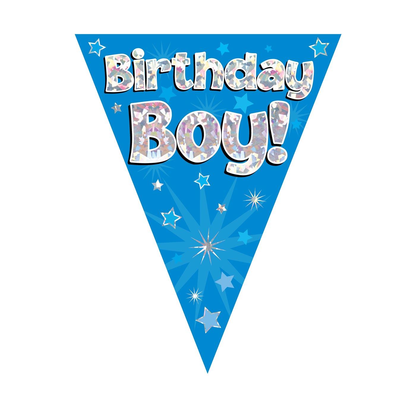 Birthday Boy Bunting