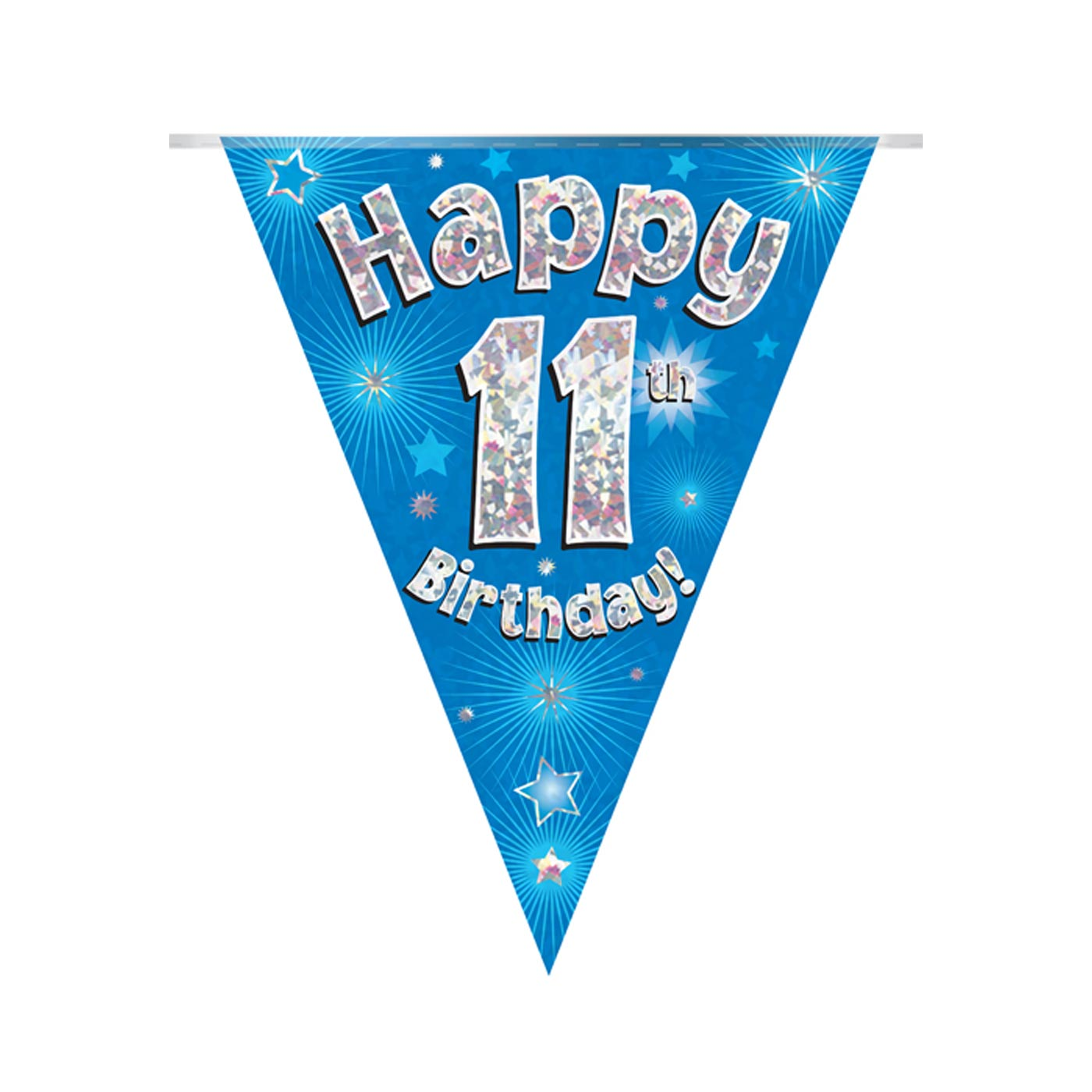 Blue Bunting Happy 11th Birthday
