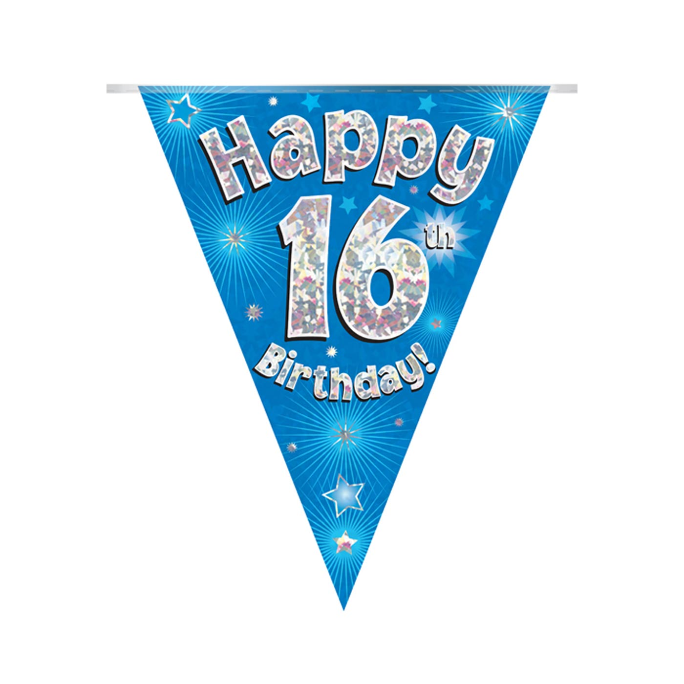 Blue Bunting Happy 16th Birthday
