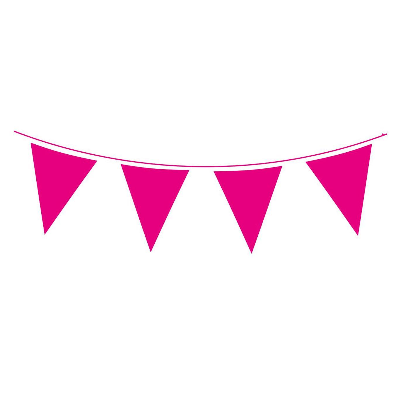 Fuchsia Pink Bunting