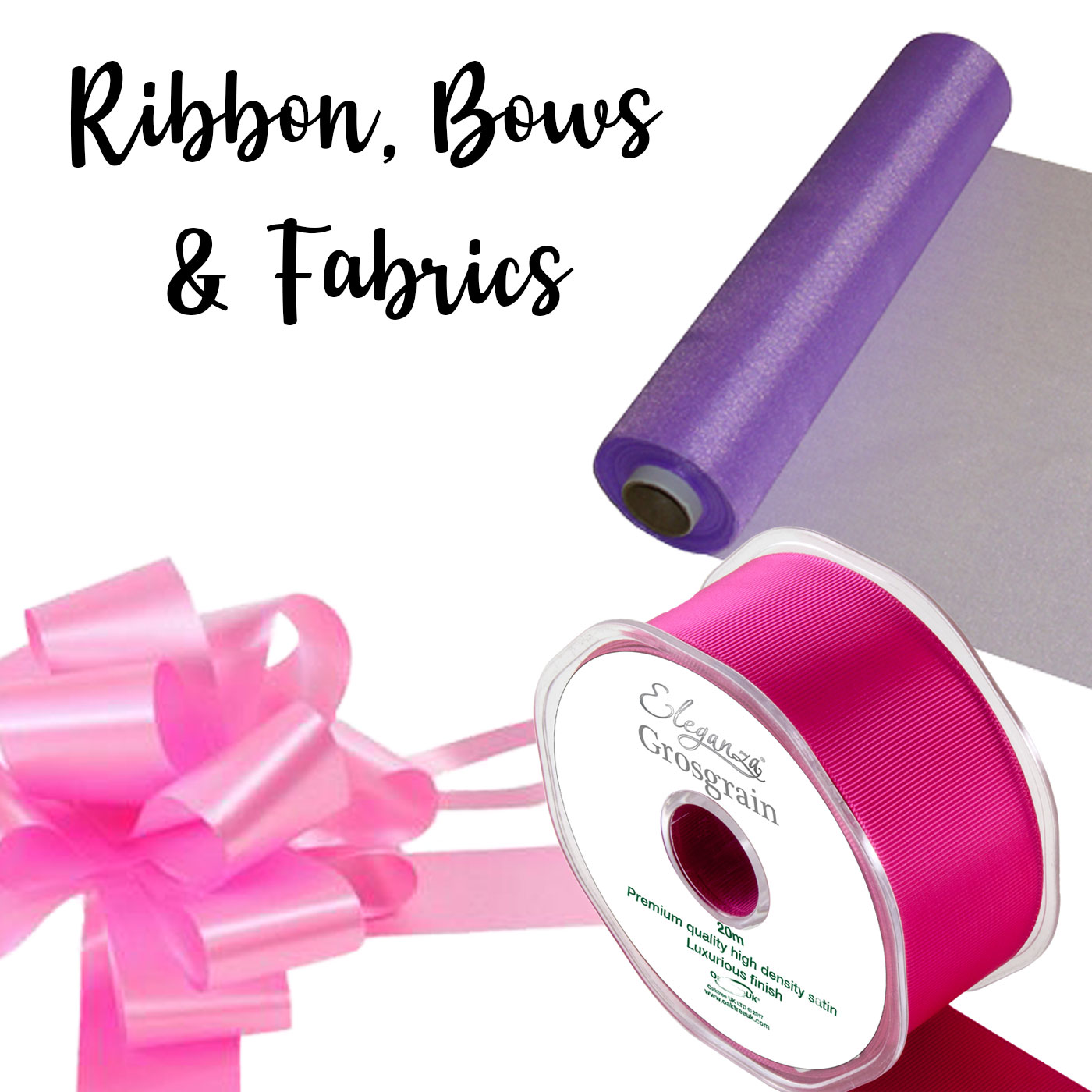 Ribbons, Bows and Fabrics
