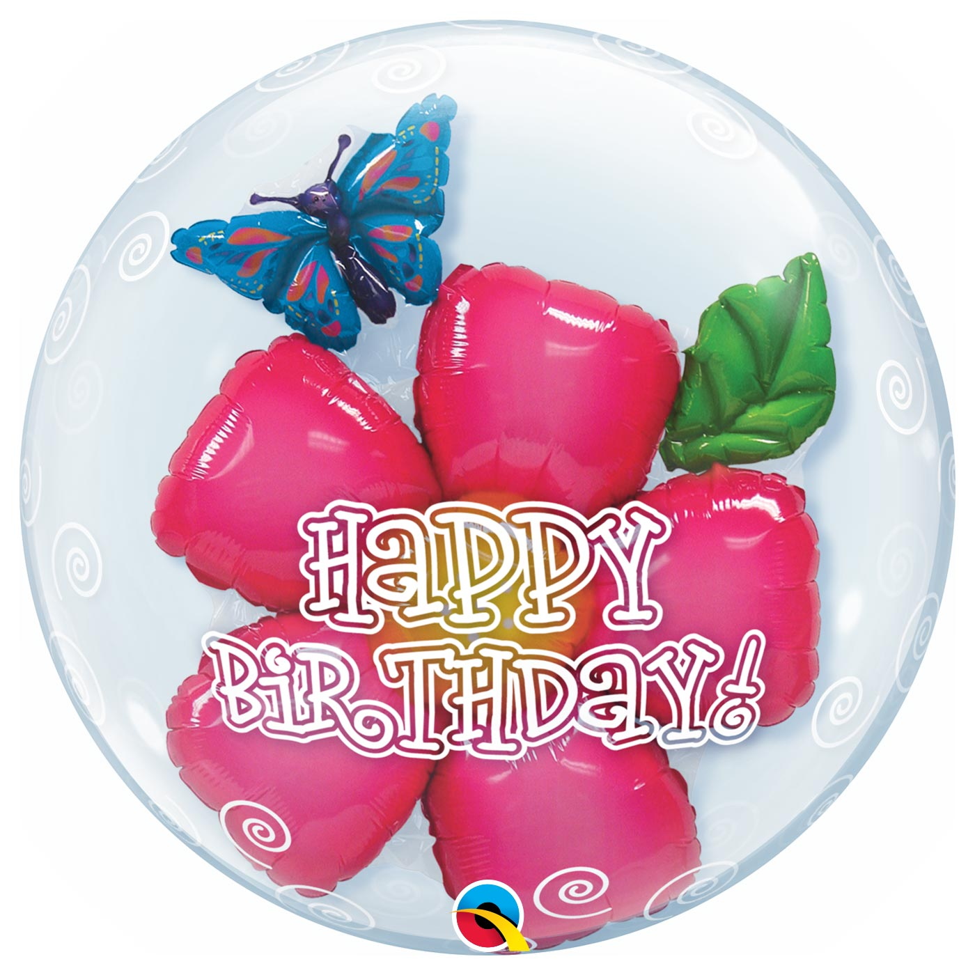 24 inch Double Bubble Birthday Flower