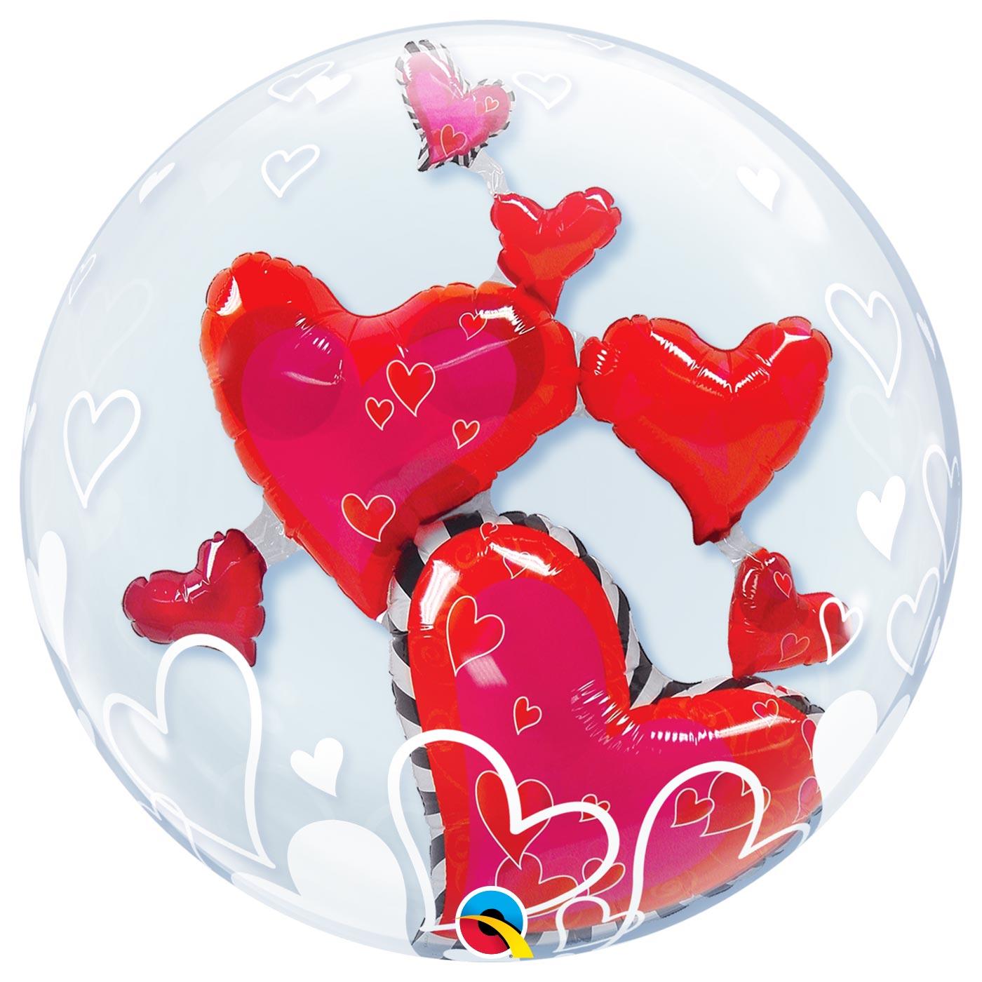 Double Bubble Lovely Hearts