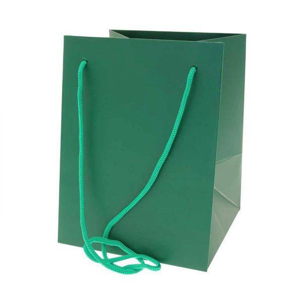 Hand Tied Bag Dark Green