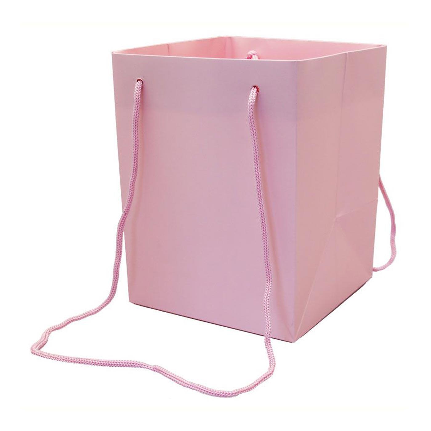Hand Tied Bag Pink