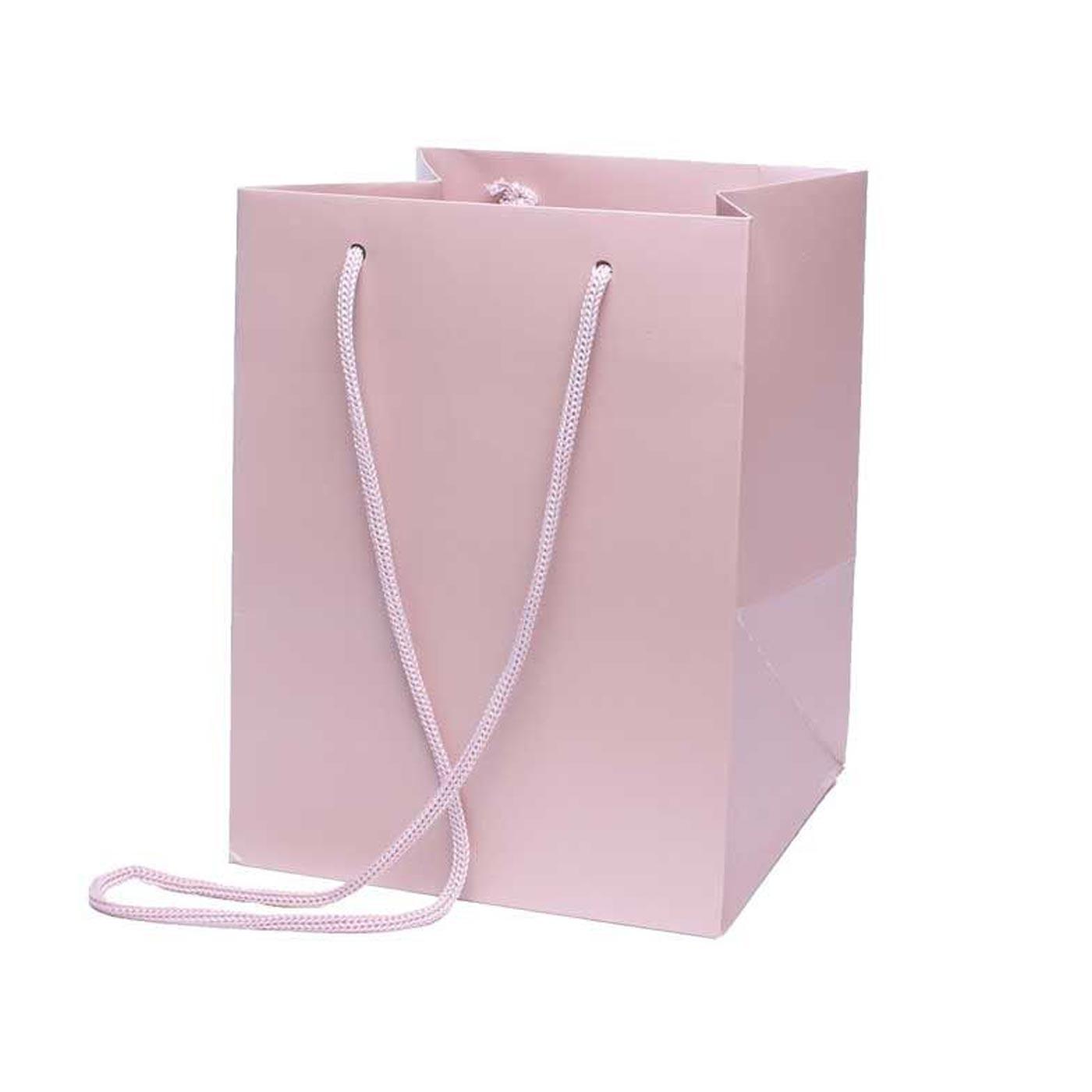 Hand Tied Bag Rose Gold
