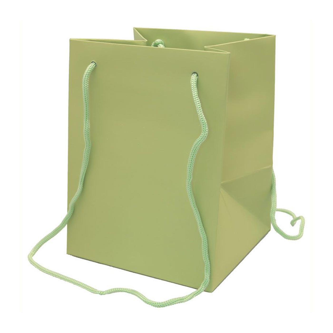 Hand Tied Bag Sage Green