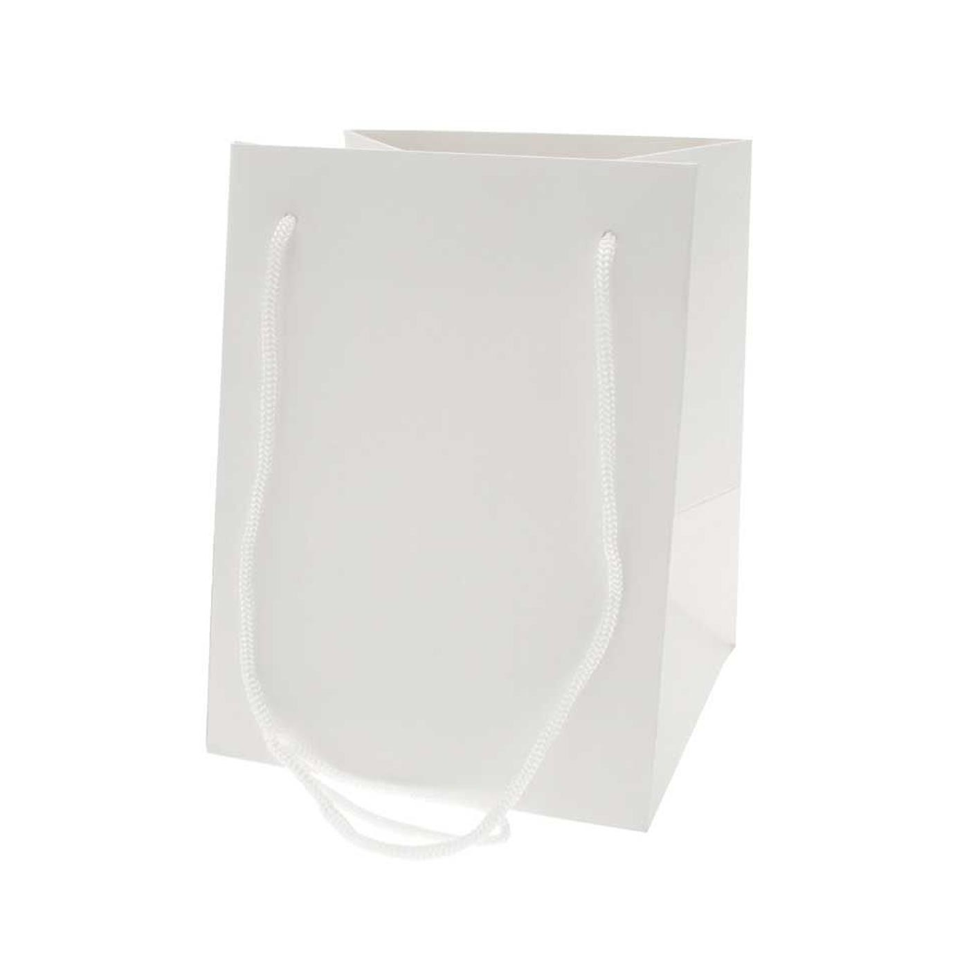 Hand Tied Bag White